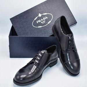 100% New and Authentic PRADA Derby Shoes